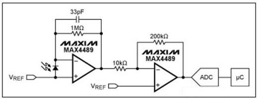光电二极管电路分立设计