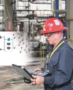 无线工厂网络:专有与标准协议的部署