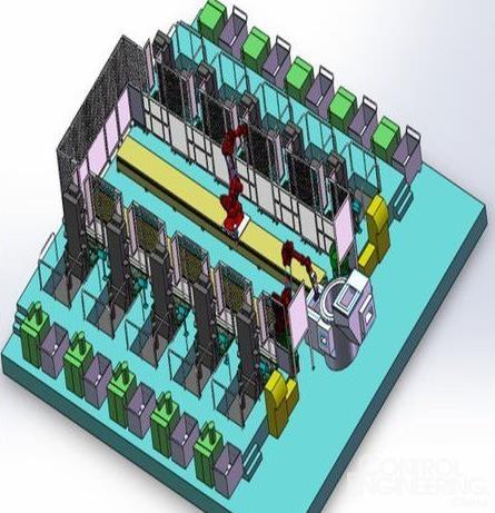 工业机器人在轻合金重力铸造自动化中的应用