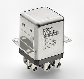 TE Connectivity新推出緊湊、全密封的非閉鎖型CII FC-335系列繼電器