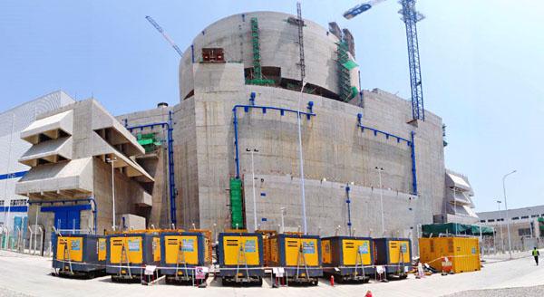 """阿特拉斯·科普柯助力""""華龍一號""""全球首堆核電機組安全殼整體性試驗"""