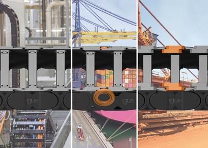 可滑动、可滚动、低成本:igus长行程模块化拖链系统E4.1系列增加新品