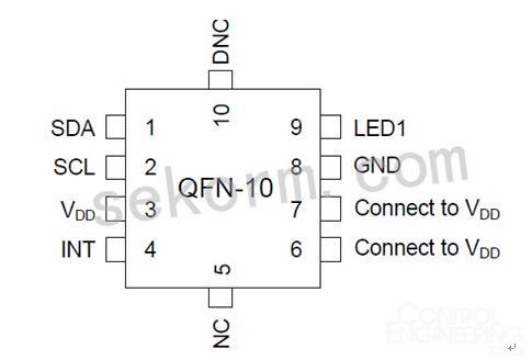 集成高灵敏度可见和红外线光电二极管