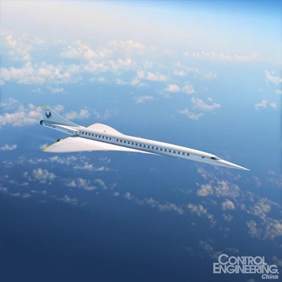 达索系统与Boom Supersonic合作,推进史上速度最快的商务客机Overture的开发进程