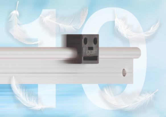 igus輕型iglidur工程塑料直線軸承提高生產效率