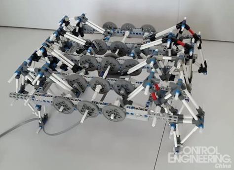 1多足步行机器人运动自由度的分析