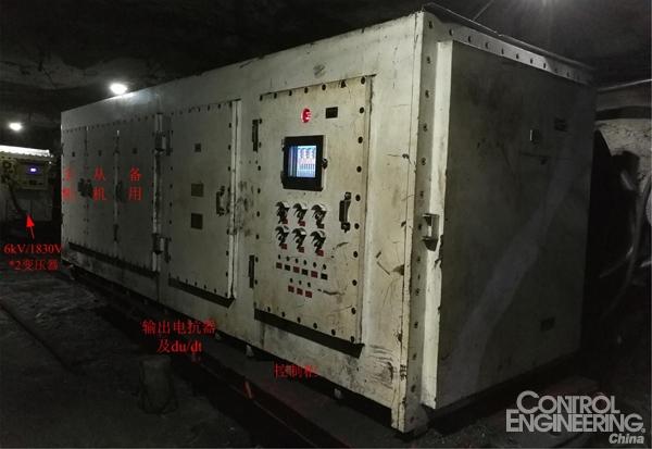 3300V三电平变频调速系统,英威腾变频器助力矿山行业