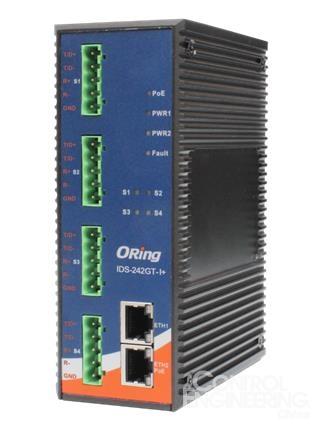 ORing发布支持隔离保护的串口服务器IDS-242GT-I+系列
