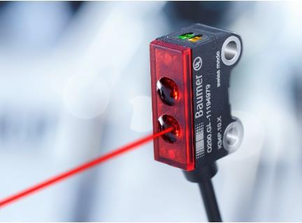 堡盟微型激光传感器:精准检测最小0.05mm的细小物体