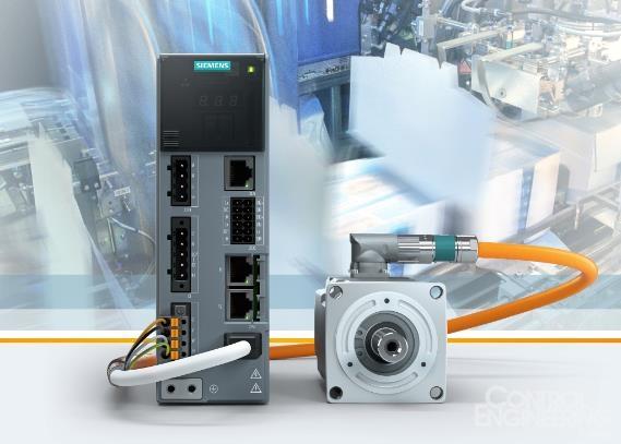 西门子推出新款伺服驱动系统为设备制造商简化项目工程