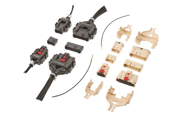 Molex MultiCat 电源连接器 新增8电路和20电路的中功率版本