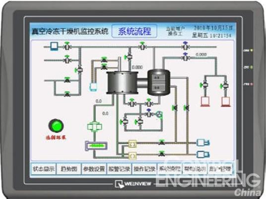 weinview触摸屏在制药机械行业的应用