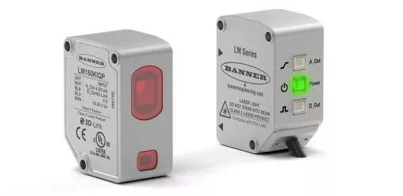 美国邦纳推出全新LM系列激光测量传感器