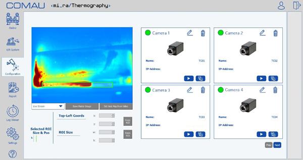 柯马发布最新解决方案 MI.RA/Thermography ,人工智能助力电动汽车制造