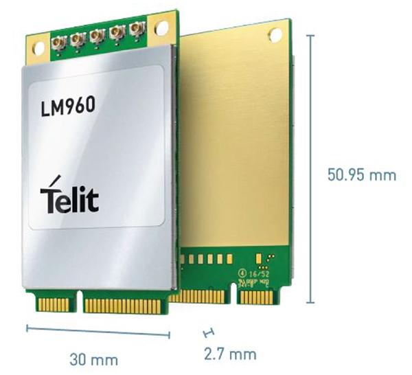 儒卓力提供Telit用于高速数据传输的先进LTE数据卡