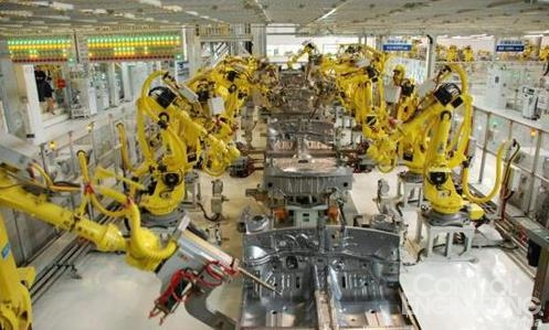 机械臂集成电路生产