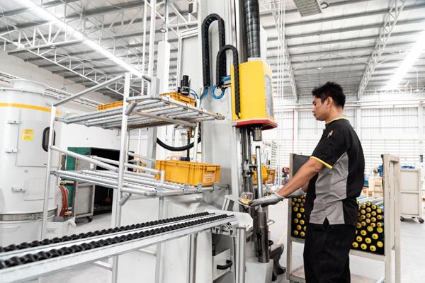 英特诺泰国新工厂全面投入运营