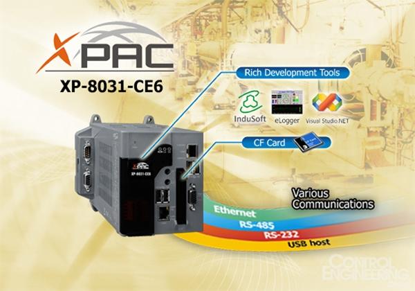 泓格科技最新发布采用 CE6 系统的 PAC 控制器 XP-8031-CE6
