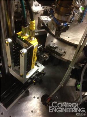 使用康耐视线扫相机对汽车电磁阀滤芯进行全面检测