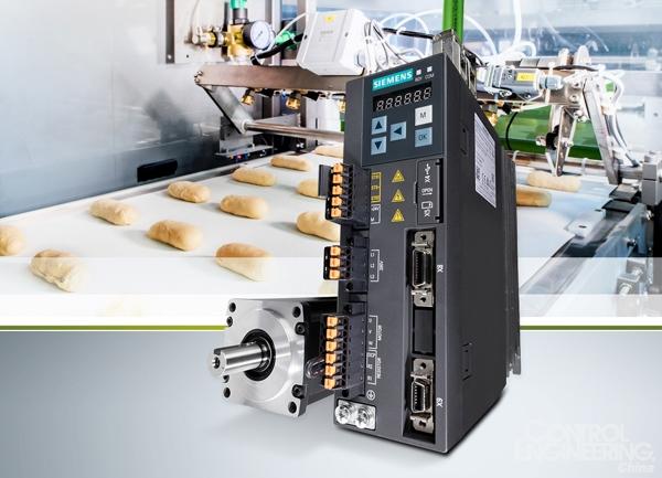 西门子Sinamics V系列变频器推出全新外形尺寸和Profinet连接功能,进一步简化操作