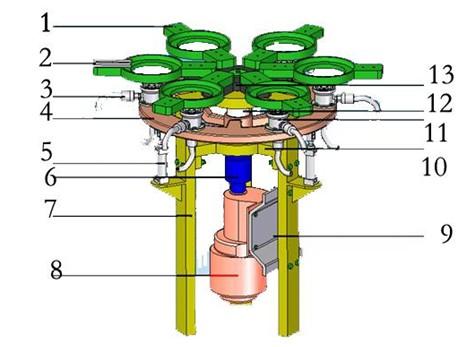 plc接线图气缸