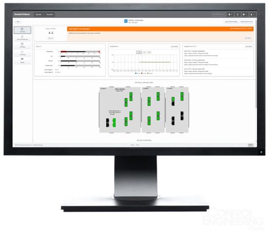 FactoryTalk Network Manager 软件让网络运维化繁为简