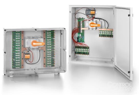 魏德米勒应用于光伏系统的PV SMART汇流箱