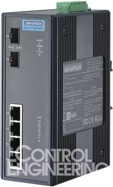 802.3at标准的工业千兆poe交换机