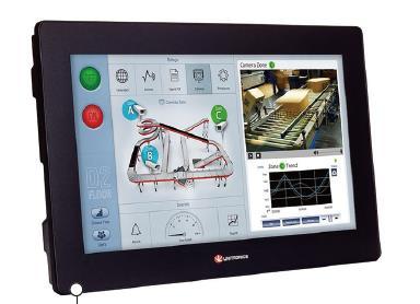 PLC+HMI一體機 在模溫機上的控制應用