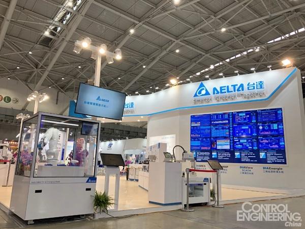 虚实整合‧创变智造新未来 台达完整智能工厂行业方案亮相台北国际自动化工业大展