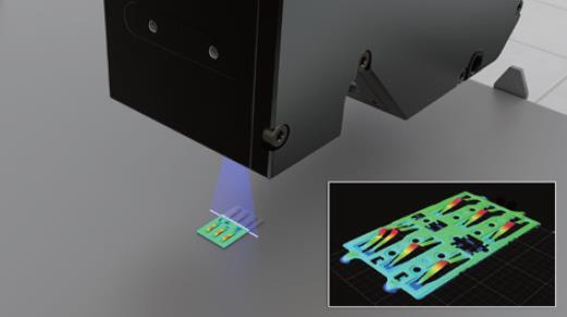 Gocator® 2500 系列:  新一代高速3D線激光輪廓傳感器