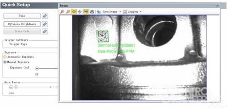 DataMan 302X读码器:对发动机曲轴进行全面跟踪