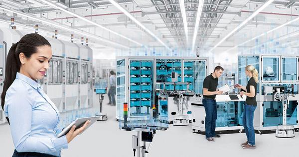 """西门子""""数字化企业""""塑造更高效灵活的工业"""