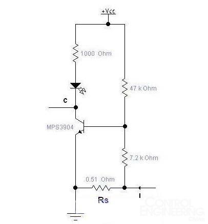 廉价的电流检测电路