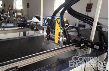 英威腾伺服DA200在点胶机的应用