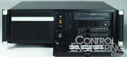 ,必须要 520MM的长度才能安装这样的大板;另外一个是安装工业CPU长卡或者是300MM长的视频卡等需要足够的扩展空间;最后一个是散热空间的考虑,由于有些监控用户需要安装多路视频卡与多个硬盘,比如64路,128路等,10个硬盘就需要很好的散热效果。   一般来说,在1U或2U的机构设计上面。由于机箱体积有限,但CPU的功耗日益加大(最新的P4CPU功耗已超过100W),因此内部散热风流设计变成了厂商面临的最大问题。而机构散热设计的功力在很大程度上反映了一个厂商的技术实力。   对于1U工控机,多用于对体