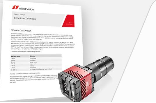 Allied Vision携新品亮相2018德国斯图加特视觉展:专注于嵌入式视觉新型相机