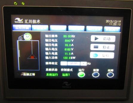 汇川hd92四象限高压变频器在矿井提升机的应用