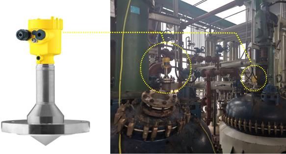 成功案例│看VEGAPULS 63在减水剂生产线上如快三走势图吉林何精准测量缩合反应釜液↓位