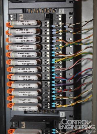 设备仍然利用接线盒和接线柜
