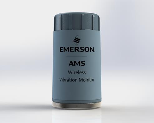 艾默生AMS新型易部署无线振动传感器可简化资产监测