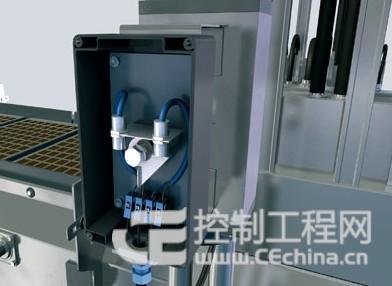 电磁阀的接线,可经过传感器进行布线,现场无需单独电缆.