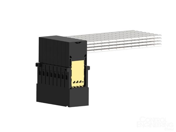 TE Connectivity推出首款直角电缆背板连接器