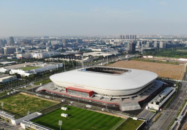 上海浦東足球場綜合布線,大塊頭有大智慧