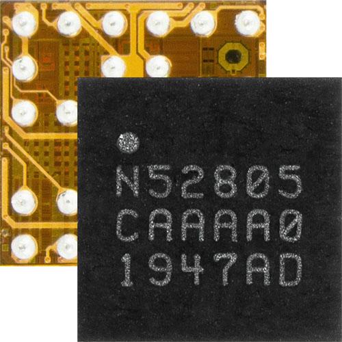 為小型兩層PCB設計節省成本:儒卓力提供Nordic 藍牙5.2 SoC