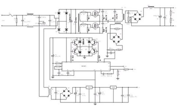 图2 pwm控制的开关电源原理图