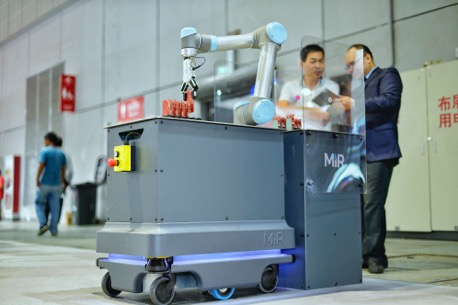 提升生产效率,MiR移动机器人助智能制造再上台阶