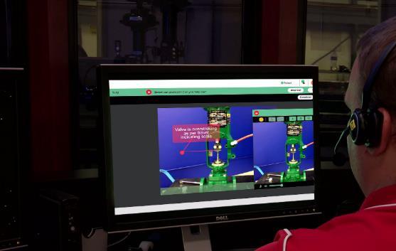 艾默生全新虚拟阀门维修服务提供高效、实时支持