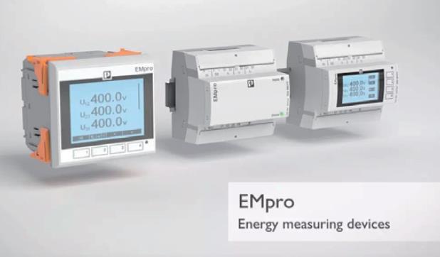 菲尼克斯电气推出全新EMpro多功能智能电能表