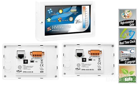 泓格科技新产品上市: TPD-433-H/TPD-433-H-EU